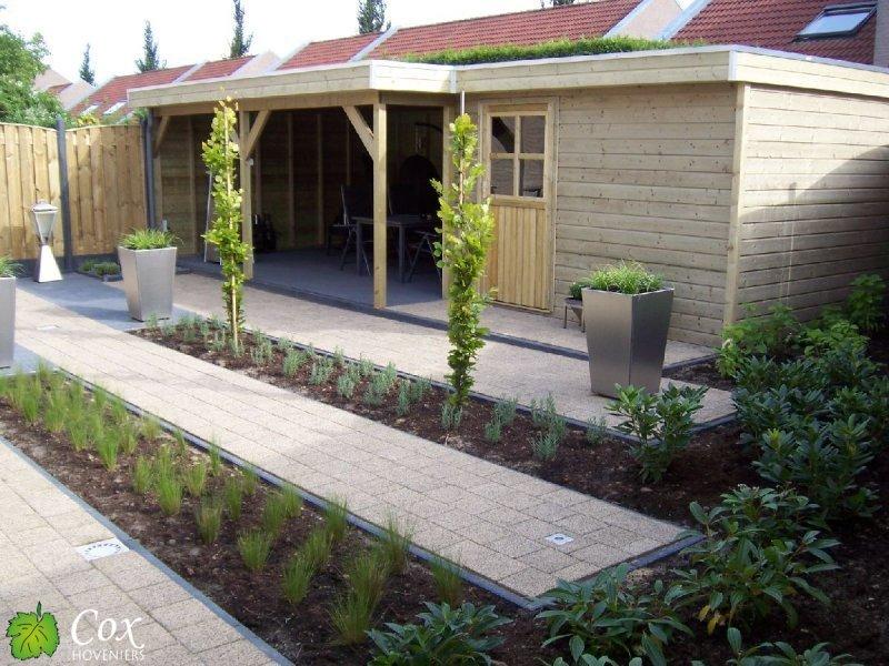 Cox Hoveniers voorbeeld tuinaanleg